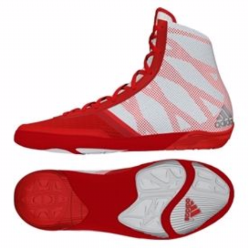 Adidas Pretereo III Wrestling Boots - Red (7.5)